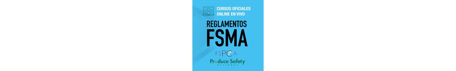 Cursos oficiales PSA y PCQI | Cursos para cumplir la FSMA